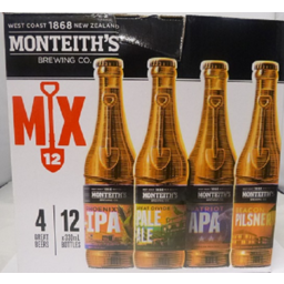Photo of Monteiths Mixed Bottles 12 Pack