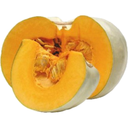 Photo of Pumpkin - Grey (sliced & wrapped)