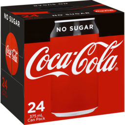 Photo of Coca Cola N/Sug 24x 375ml
