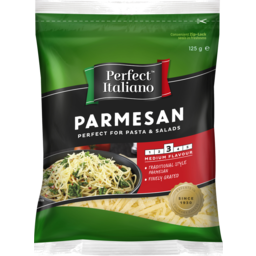 Photo of Perfect Italiano Parmesan Grated 125g
