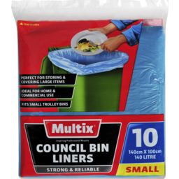 Photo of Multix Council Bin Liners Small 10 Pack