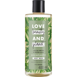 Photo of Love Beauty & Planet Body Wash Tea Tree & Vetiver 400 Ml