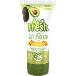 Photo of Avo Fresh Soft Avocado With A Hint Of Lemon Tube 160g