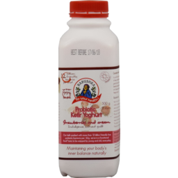 Photo of Babushka Probiotic Kefir Yoghurt Strawberry 500g