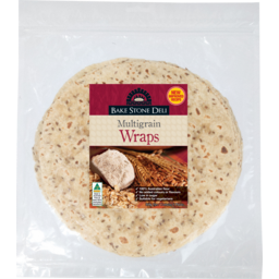Photo of Bake Stone Multigrain Wraps 360gm