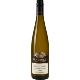 Photo of Sandhills Wine Pinot Gris Marlborough 2020ml