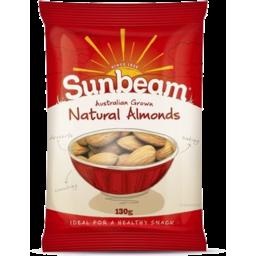 Photo of Sunbeam Natural Almonds 130gm