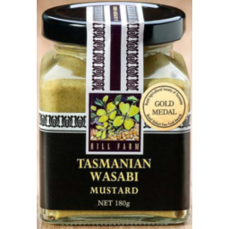 Photo of Hill Farm Mustard Wasabi 180gm