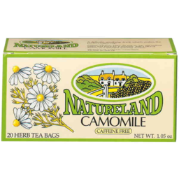 Photo of Natureland Camomile 20 Herb Tea Bags 1.05
