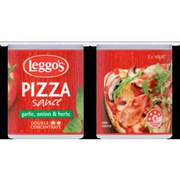 Photo of Leggo's Pizza Sauce With Garlic, Onion & Herbs 2x140g