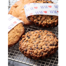 Photo of Luxe Bakery Cookies - Salted White Choc Chip Macadamia (4 Pack)
