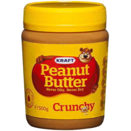 Photo of Kraft Peanut Butter Crunchy 500gm