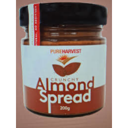 Photo of PURE HARVEST SPREAD ALMOND CRUNCH 200 GM