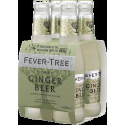 Photo of Fever Tree Ginger Beer Bottles