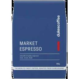 Photo of Dukes Espresso Ground 250g