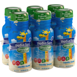 Photo of Abbott Pediasure Vanilla Shake With Fiber - 6 Pk