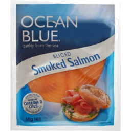 Photo of Ocean Blue Smoked Salmon 50gm