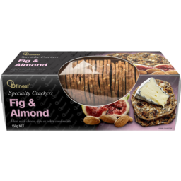 Photo of OB Finest Crackers Fig & Almond 100g