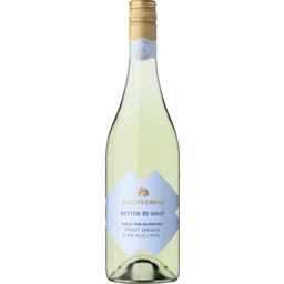 Photo of Jacob's Creek Better By Half Pinot Grigio 750ml