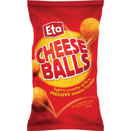 Photo of Eta Corn Snacks Cheese Balls 120g