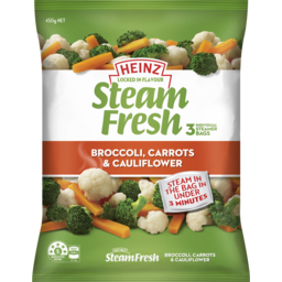 Photo of Steamfresh Broccoli Carrot and Cauliflower 450g