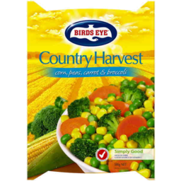 Photo of Birds Eye Country Harvest Corn Peas Carrot & Broccoli 500g