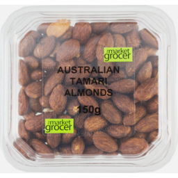 Photo of The Market Grocer Australian Tamari Almonds 150g