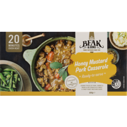 Photo of Beak & Sons Meal Honey Mustard Pork Casserole 600g