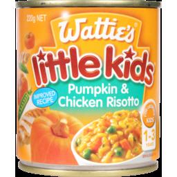 Photo of Wattie's Little Kids Stage 4 Baby Food Chicken & Pumpkin Risotto 1+ Year 220g