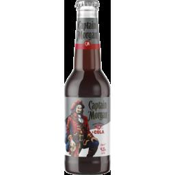 Photo of Captain Morgan & Cola Bottle