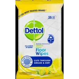 Photo of Dettol Wipes Antibacterial Floor 25