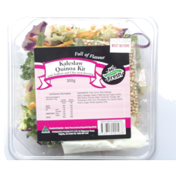 Photo of Hi Fresh Kaleslaw Quinoa Kit 300g
