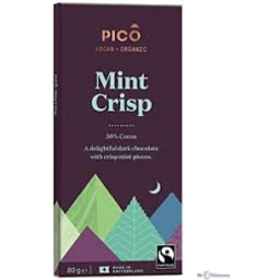 Photo of Pico Chocolate Mint Crisp 58% Cocoa 80g