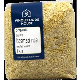 Photo of Wholefoods House Rice Basmati Brown 1kg