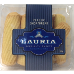Photo of Lauria Biscuits Classic Shortbread (190g)