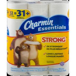 Photo of Charmin Essentials Bathroom Tissue Giant Rolls - 12 Ct