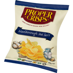 Photo of Proper Crisps Marlborough Sea Salt 40g