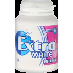 Photo of Wrigley's Extra White Bubblemint Bottle 64g