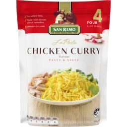 Photo of San Remo La Pasta Chicken Curry 120g