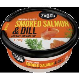 Photo of Zoosh Dip Smkd Salmon/Dill 185gm