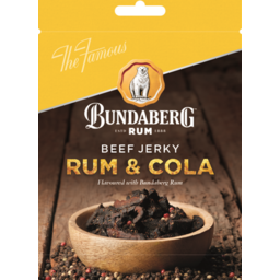 Photo of Bundaberg Rum Beef Jerky Rum & Cola