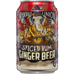 Photo of Brookvale Spiced Rum & Lime Ginger Beer Can