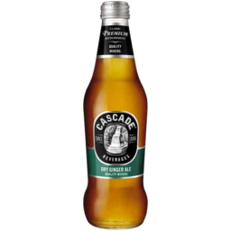 Photo of Cascade Dry Ginger Ale Bottle