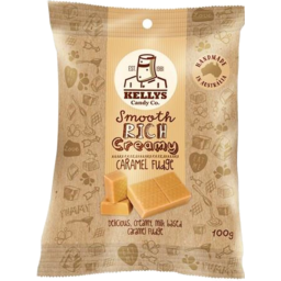 Photo of Kelly's Candy Co Caramel Fudge Pouch 225gm