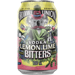 Photo of Brookvale Union Vodka Lemon Lime & Bitters Cans