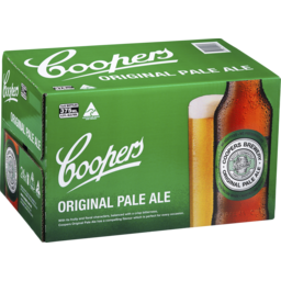 Photo of Coopers Brewery Original Pale Ale Bottles 24x375ml