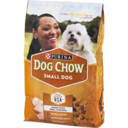Photo of Purina Dog Chow Small Dog Made With Real Chicken