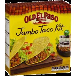 Photo of Old El Paso Jumbo Taco Kit (350g 10 Pack)