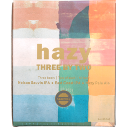 Photo of Sawmill Beer Hazy Three By Two 6 Pack