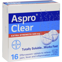 Photo of Aspro Clear 16 Tablets